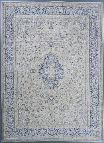 Kerman Fine Vintage Erased Persian Rug (Ref 906) 391x285cm