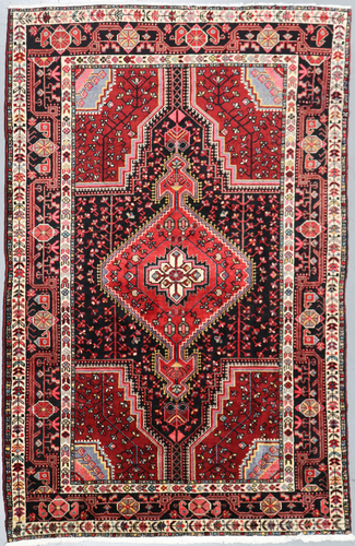 Hamadan Zenjan Persian Rug (Ref 677) 220x145cm