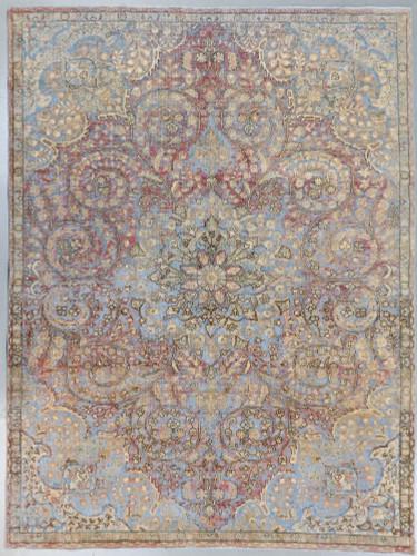 Tabriz Vintage Zero Pile Persian Rug (Ref 15a) 340x245cm
