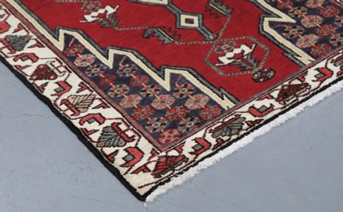 Hamadan Mazlagan Vintage c1950 Persian Rug (Ref 604) 133 x 80cm