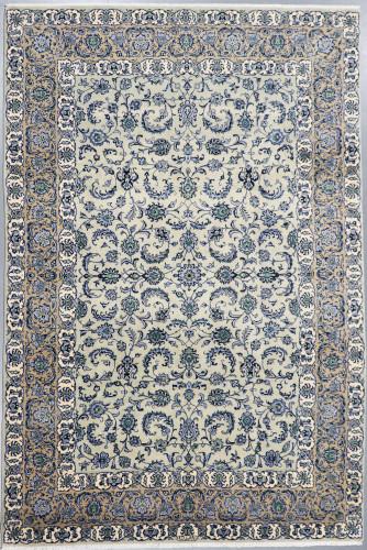 Kashan Pistachio Persian Rug (Ref 466) 325x220cm