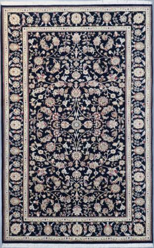 Nain Fine Wool and Silk Jaipur Rug (Ref 104) 250x155cm