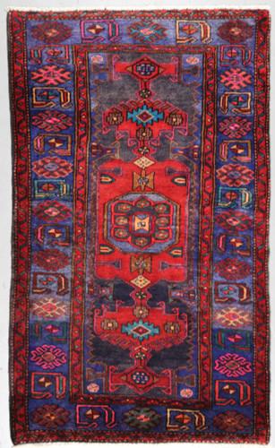 Hamadan Vintage Persian Rug (Ref 33) 183x110cm