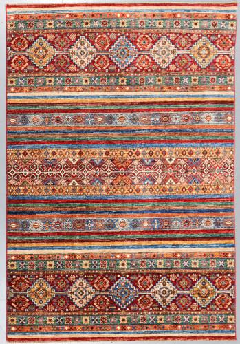 Kazak Suzani Khorjin Fine Veg Dye Rug (Ref 91) 230x154cm