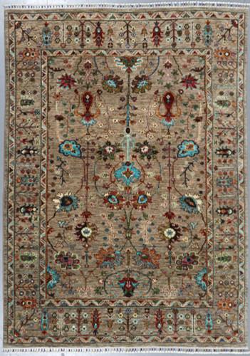 Kazak Sultani Khorjin Fine Veg Dye Rug (Ref 513) 235x169 cm