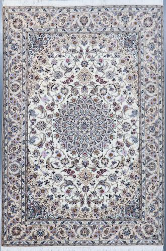 Nain Fine Wool and Silk Persian Rug 9L (Ref 709) 300x205cm