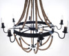 Nautical Rope Pendant Hanging Lamp Chandelier Lighting