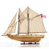Schooner Bluenose II Ship Model Sailboat Fully Built