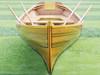Boston Whitehall Rowboat Cedar Strip Pulling Boat