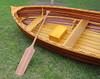 Cedar Dingy Matte Finish Wood Strip Built