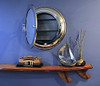 Medicine Cabinet Surface Wall Mounted Porthole Mirror