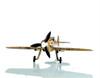 1939 Messerschmitt Bf 109E Fighter Aircraft Metal Model