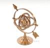 Brass Armillary Dial Sphere Globe Desk Top Decor