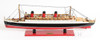 Queen Mary Ocean Liner Model Display Case Cruise Ship