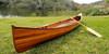 Cedar Wood Strip Built Canoe Woodenboat USA