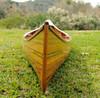 Cedar Strip Canoe Wooden Boat Without Ribs