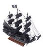 Small Black Pearl Caribbean Pirate Ship Wooden Model