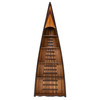 Canoe Bookcase Book Shelf Wood Strip Built Furniture