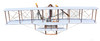 Wright Brothers 1903 Flyer 1 Cedar Wood Model Aircraft Decor