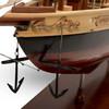 Schooner Bluenose II Wooden Ship Model Sailboat Fully Built Boat