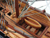 """USS Constitution Wooden Tall Ship Model 22"""" Built Old Ironsides"""