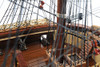 """USS Constitution Copper Bottom Wood Tall Ship Model 38"""" Old Ironsides"""