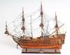 De Zeven Provincien Wood Display Model Boat