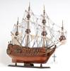 Dutch De Zeven Provincien Wood Model Ship