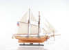 Harvey 1847 Baltimore Clipper Model Privateer Ship