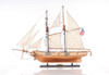 Harvey 1847 Baltimore Clipper Wood Model Privateer Ship