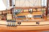 Harvey 1847 Clipper Wood Model Privateer Ship
