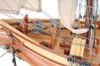 Harvey Baltimore Clipper Wood Model Privateer Ship