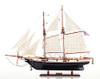 Baltimore Clipper Wooden Model Tall Ship Schooner
