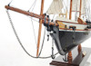 Harvey Baltimore Clipper Wooden Model Tall Ship