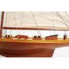 "Shamrock V America's Cup Yacht Wooden Model 32"" U.K. Challenger"