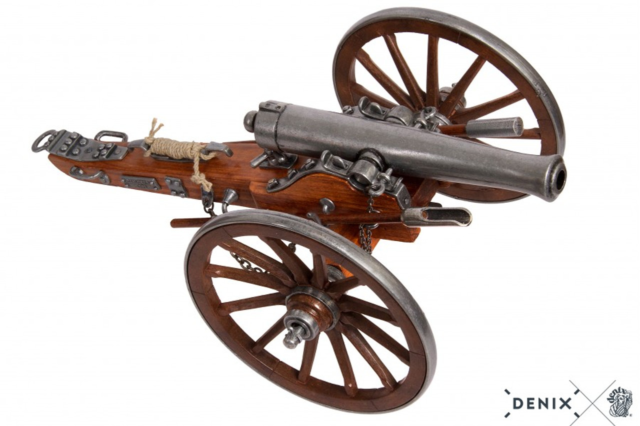 Cast Metal Civil War 12 Pounder 1861 Cannon Field Artillery Model 15