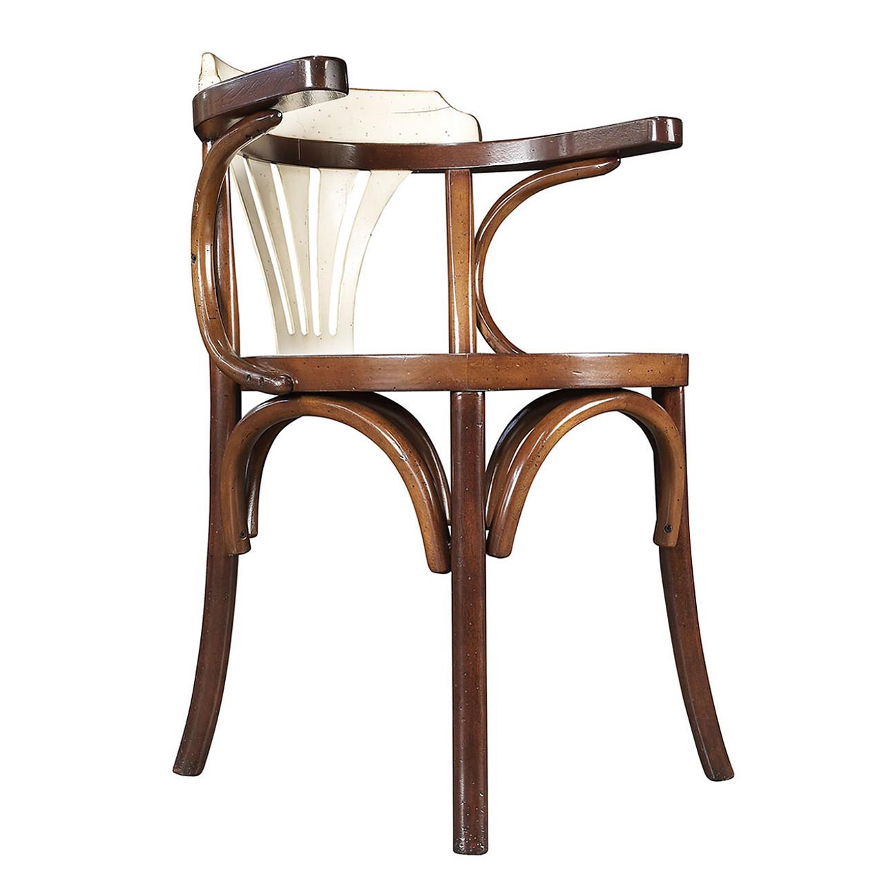 Navy chair honey ivory nautical office desk furniture