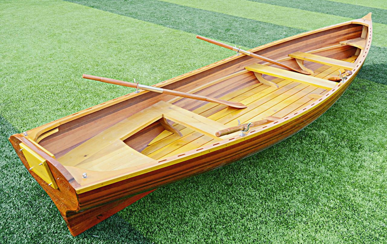 Whitehall Cedar Wood Strip Pulling Boat Tender