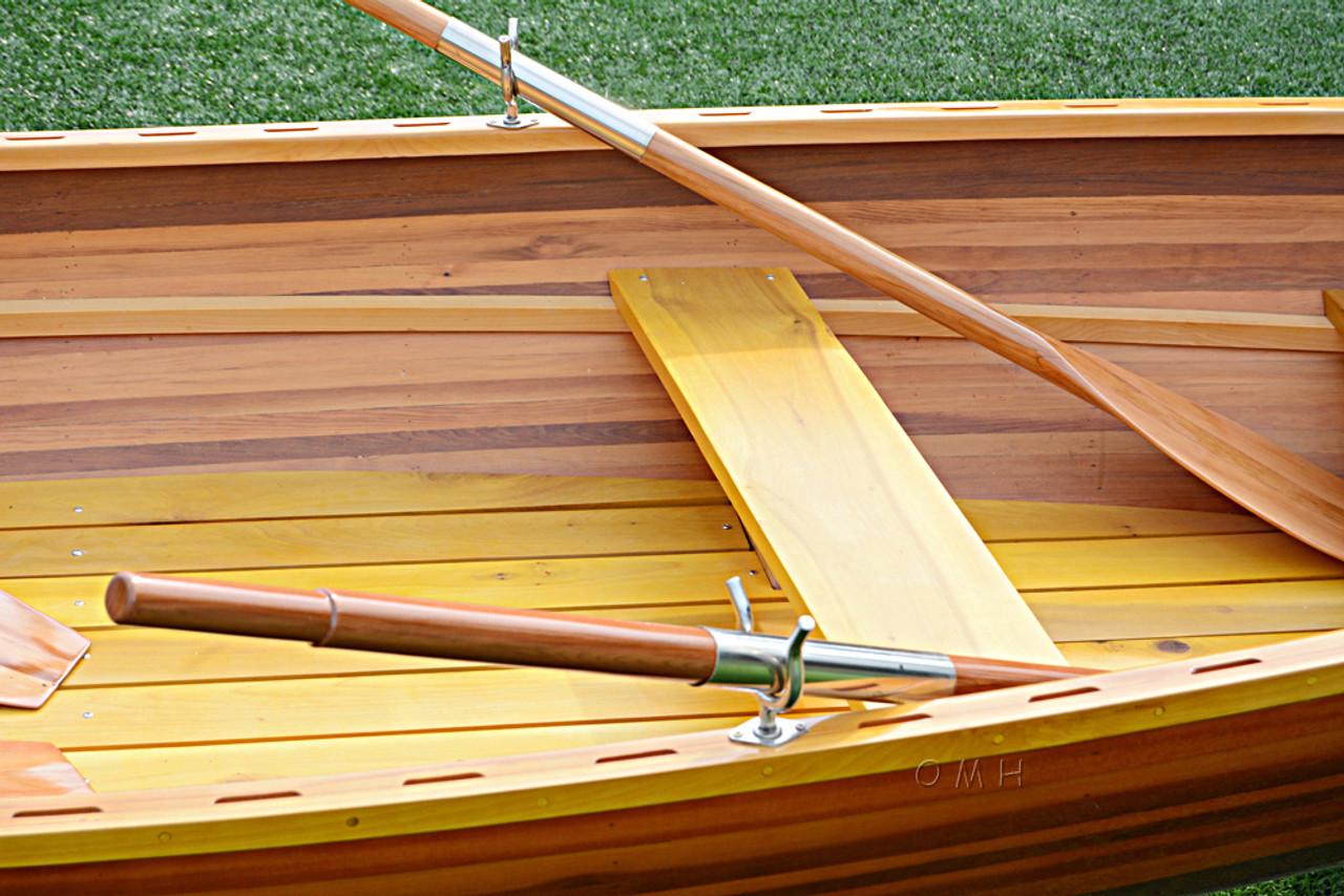 Boston Whitehall Rowboat Cedar Pulling Boat Tender