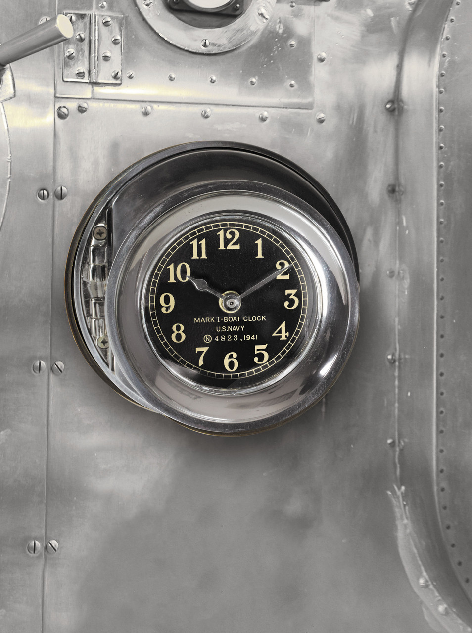 US Navy WWII Mark I Ship Deck Clock