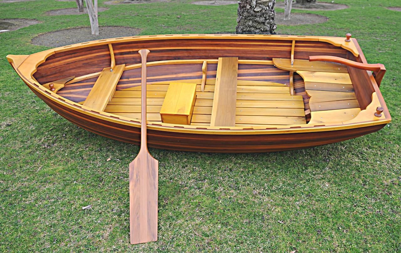 Cedar Rowboat Dingy Matte Finish Strip Built