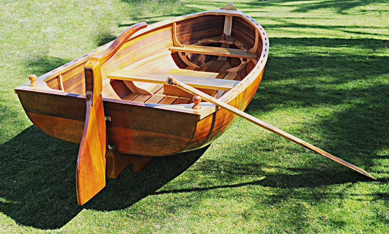 Cedar Rowboat Dingy Wood Strip Built Gloss Tender