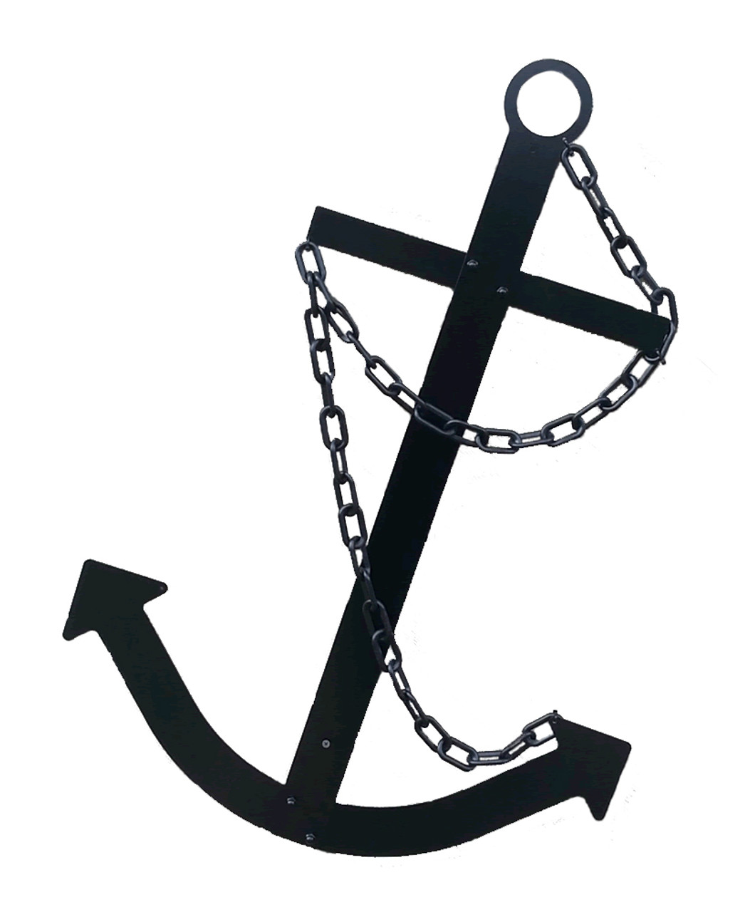 Ships Anchor Black Nautical Wall Decor Made USA