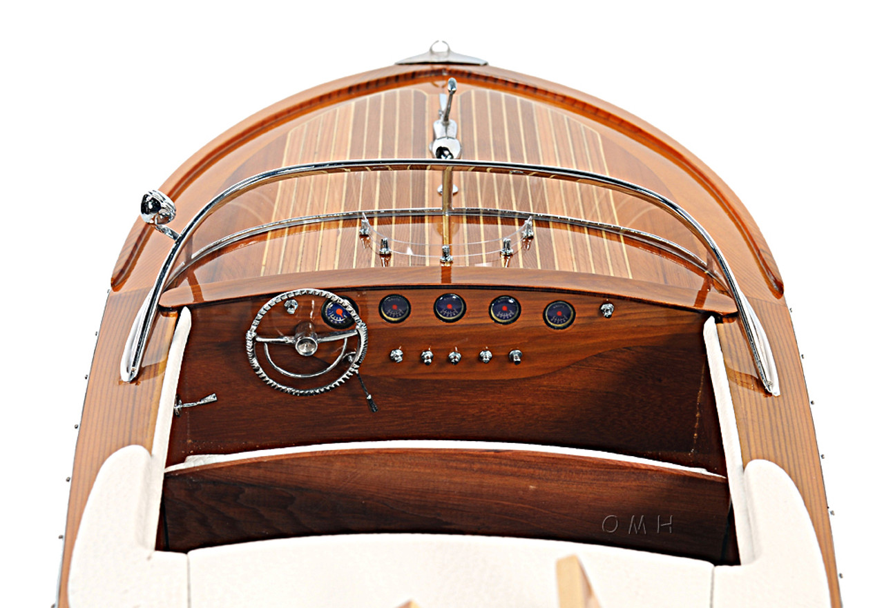 Riva Ariston Speed Boat Scale Italian Runabout