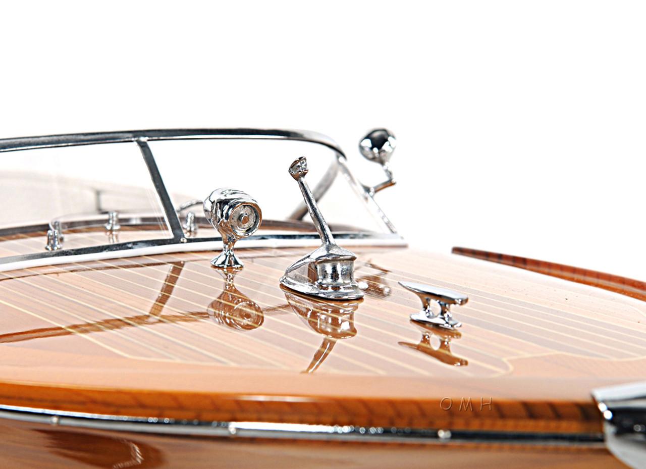 Riva Ariston Speed Boat Scale Model Italian Runabout