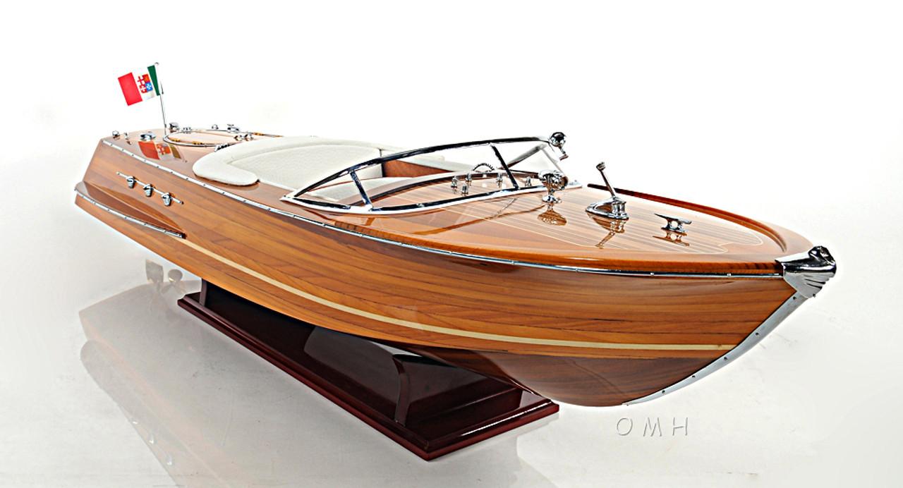 Riva Ariston Wooden Scale Model Italian Runabout