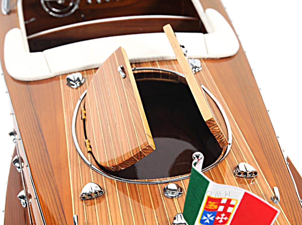 Riva Ariston Speed Boat Scale Model Runabout