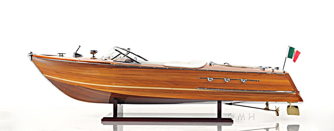 Riva Ariston Speed Boat Model Italian Runabout