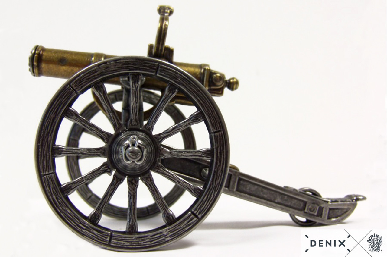 "Civil War Gatling Gun Metal Display Model 6.88/"" USA 1861 Mini Reproduction New"