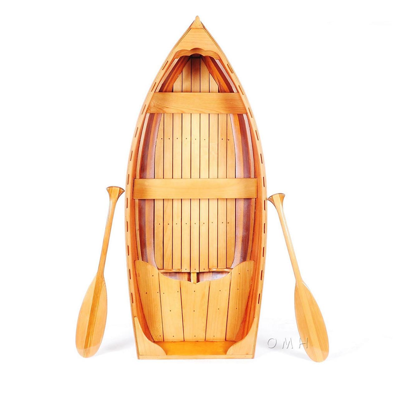 Display Cedar Strip Built Whitehall Dinghy Row Boat